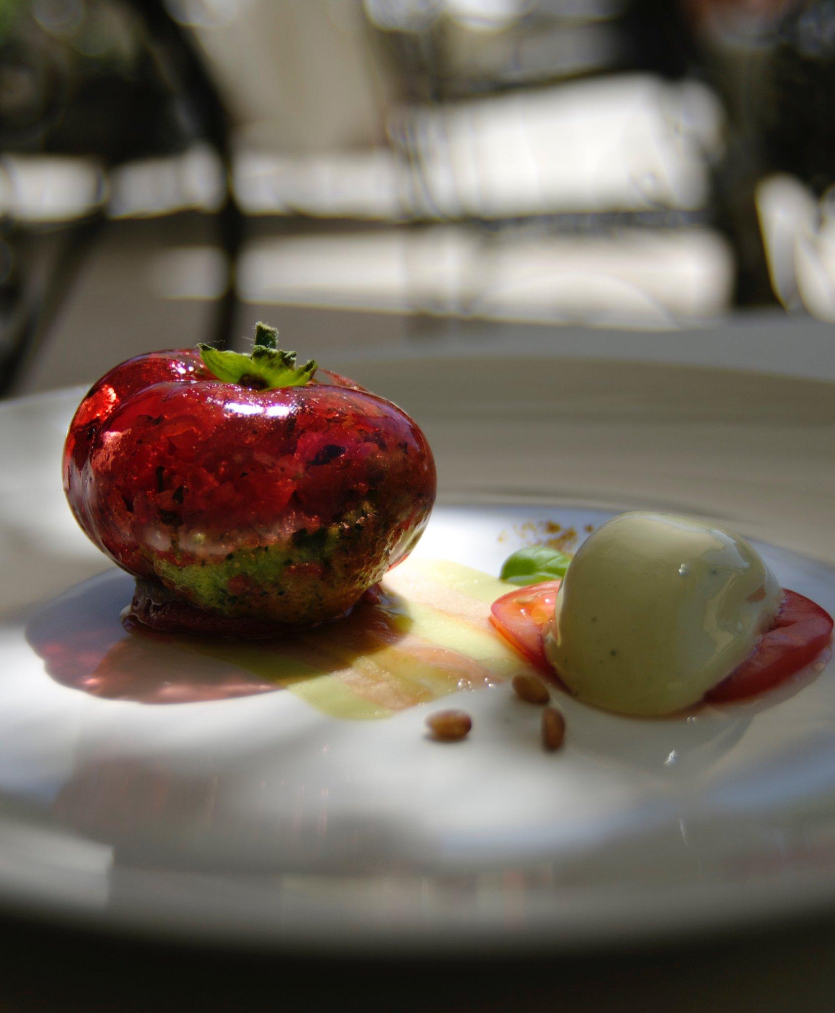 Le restaurant du Mas de Chastelas-Saint-Tropez