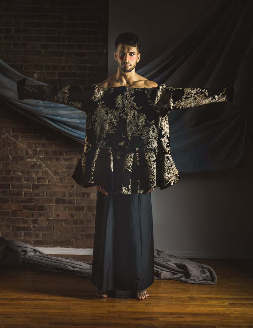Stone_Zhu -Le mannequin Rudy Bundini
