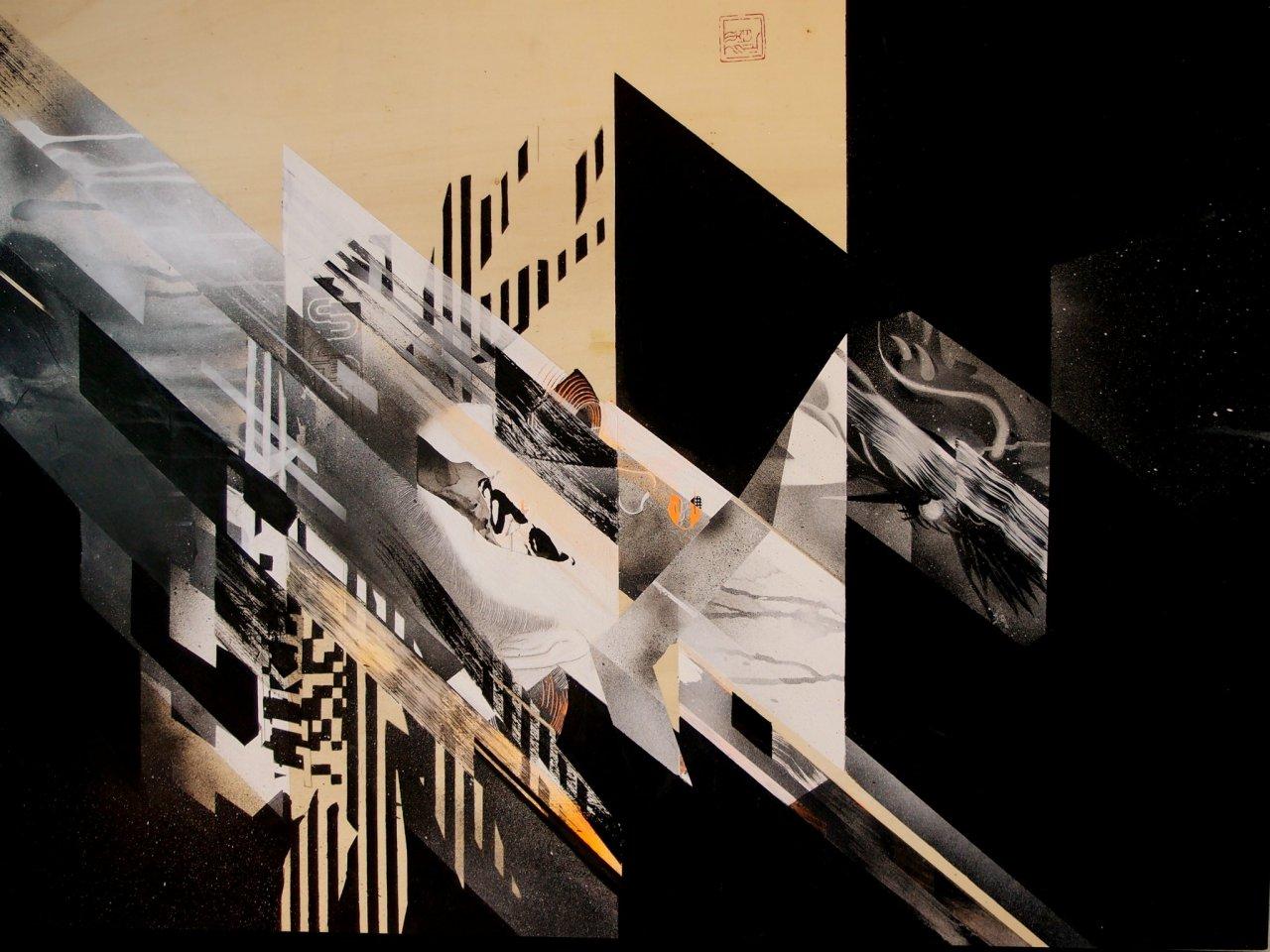 Calligraphie japonaise par Michio Koide