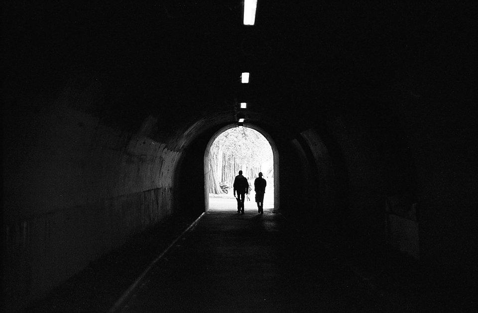 Sortie du tunnel - Paris