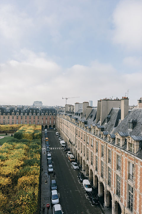Les toits de Paris. Maison Mauban Paris
