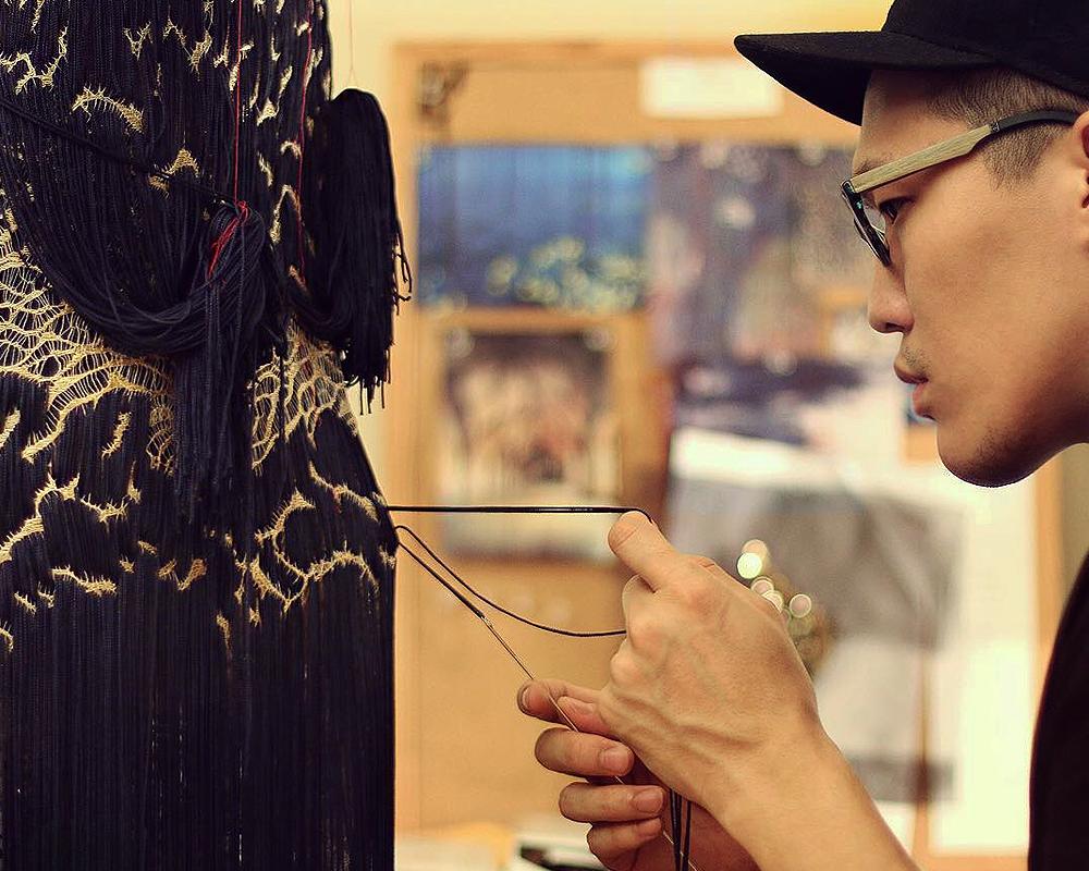 Le créateur de mode Mihca Cho