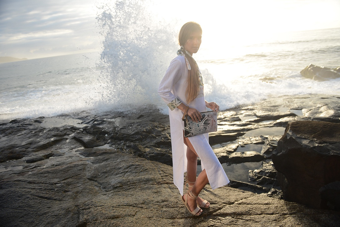 ROBRE-086 robe de plage Atelier Arty Apparel