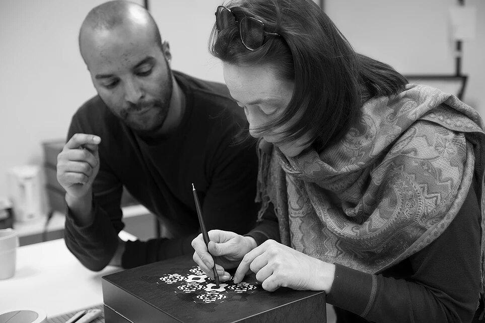 Ali Rakib et Marianne Leger