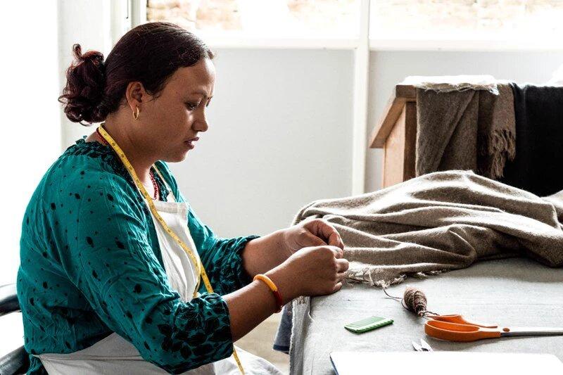 Atelier au Nepal, ForWeavers