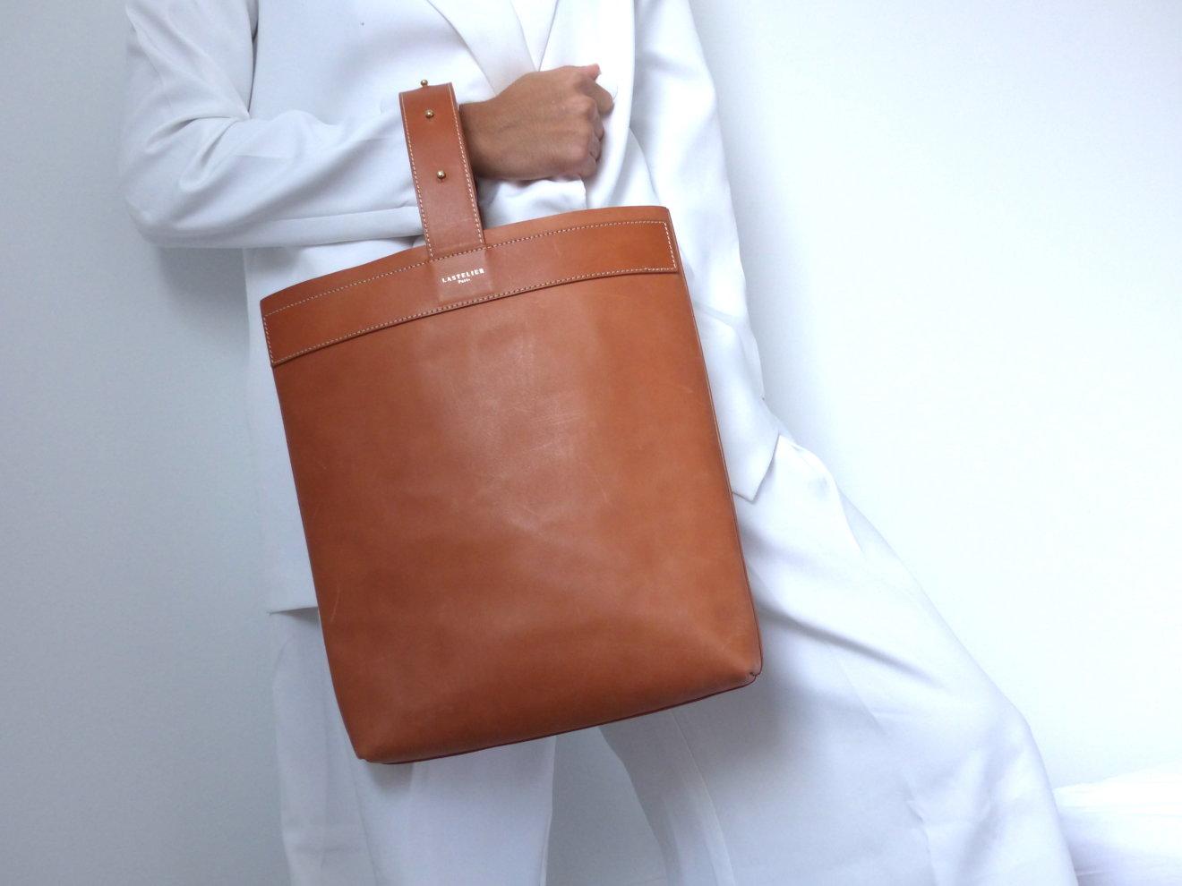 UBLA-131 SAC CUIR UBUD LASTELIER BAG Ubud bag - leather