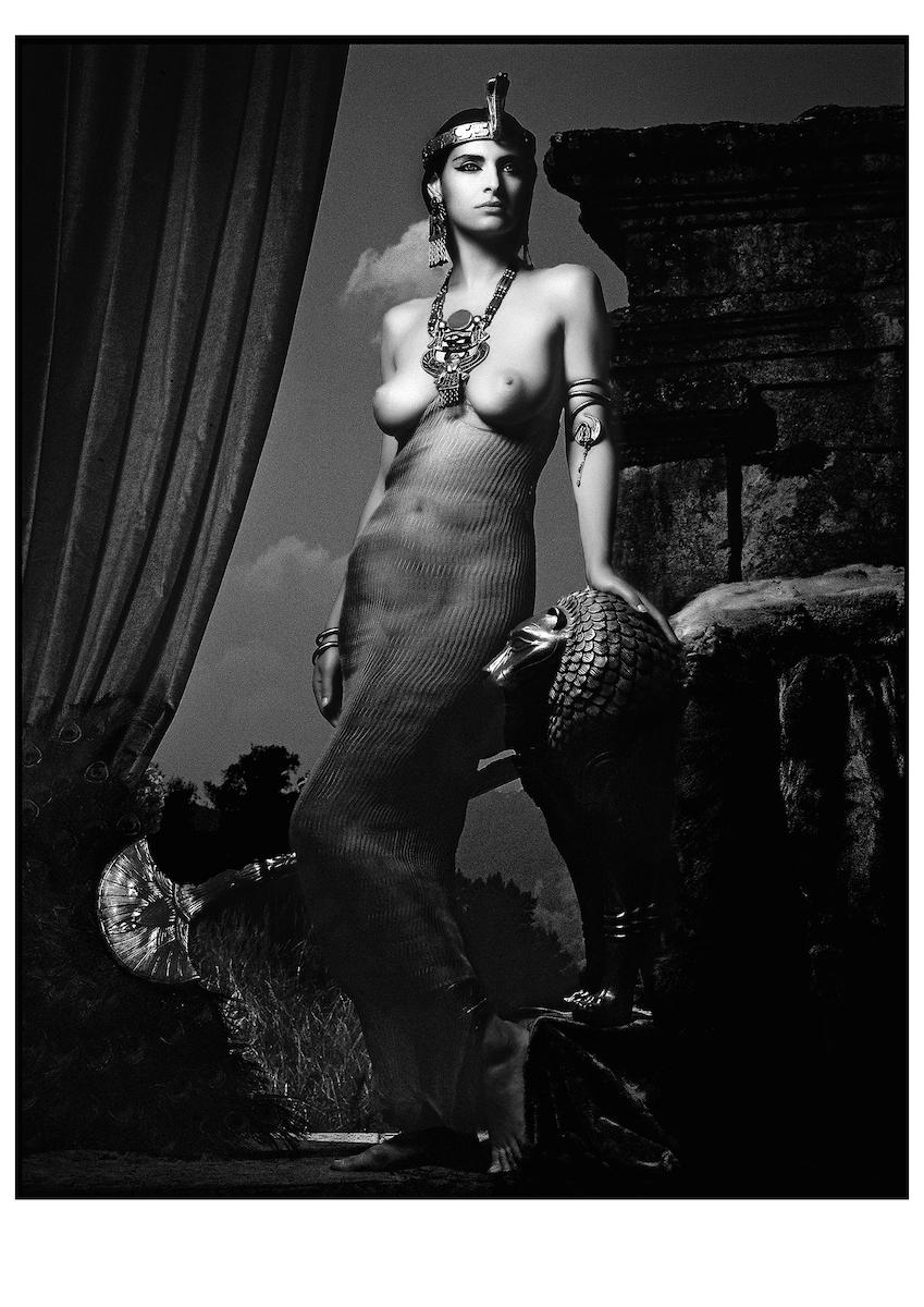 ELHE-653-654-Les Héroïnes- Égypte-Calendrier-Pirelli- 1991-art-Arrowsmith©-