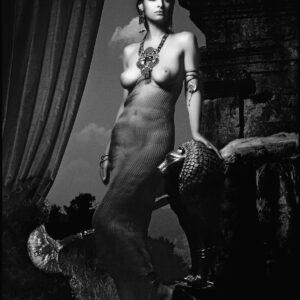 ELHE-653-654-Les Héroïnes- Égypte-Calendrier-Pirelli- 1991-art-Arrowsmith©