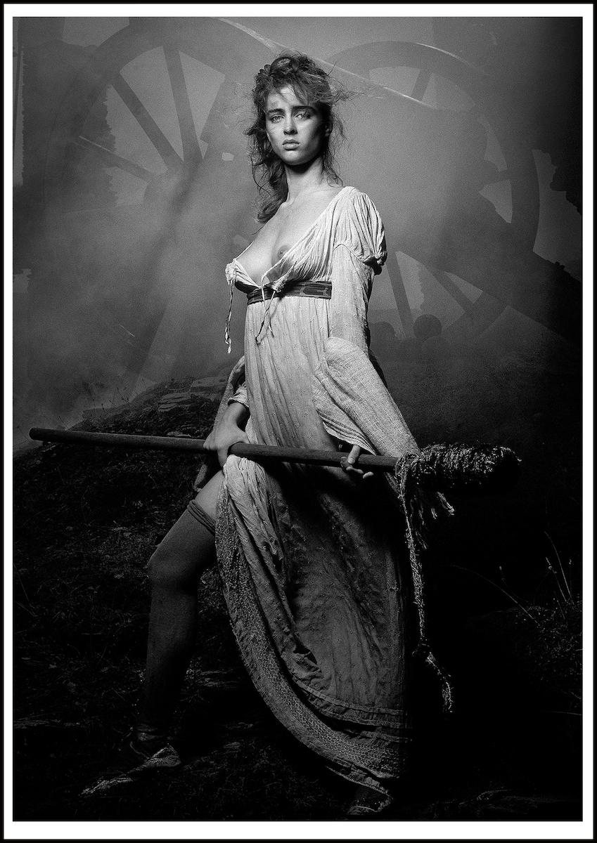 ELHE-655-656-Les Héroïnes- Espagne-Calendrier-Pirelli- 1991-art-Arrowsmith©-