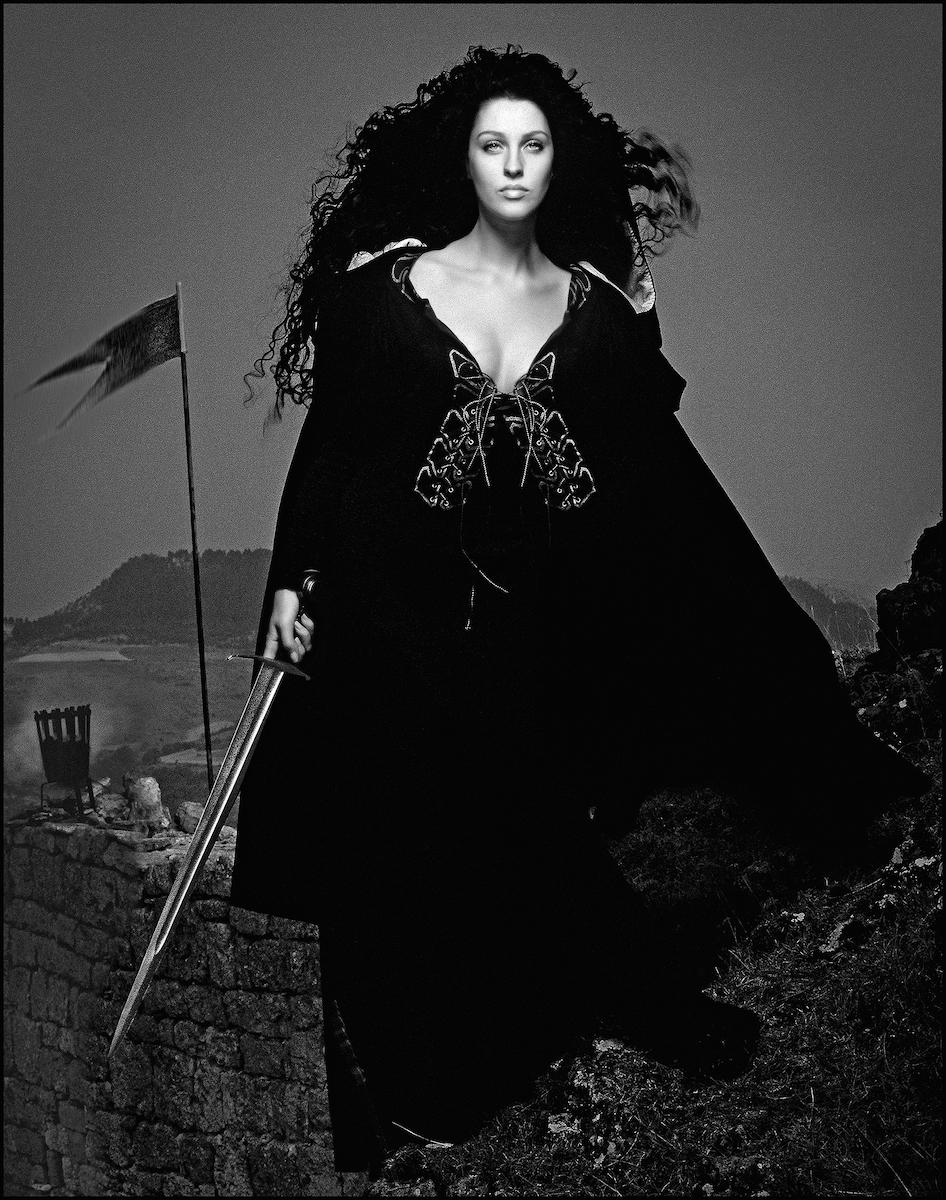 ELHE-657-658-Les Héroïnes- Écosse-Calendrier-Pirelli-1991-ART-Arrowsmith©-