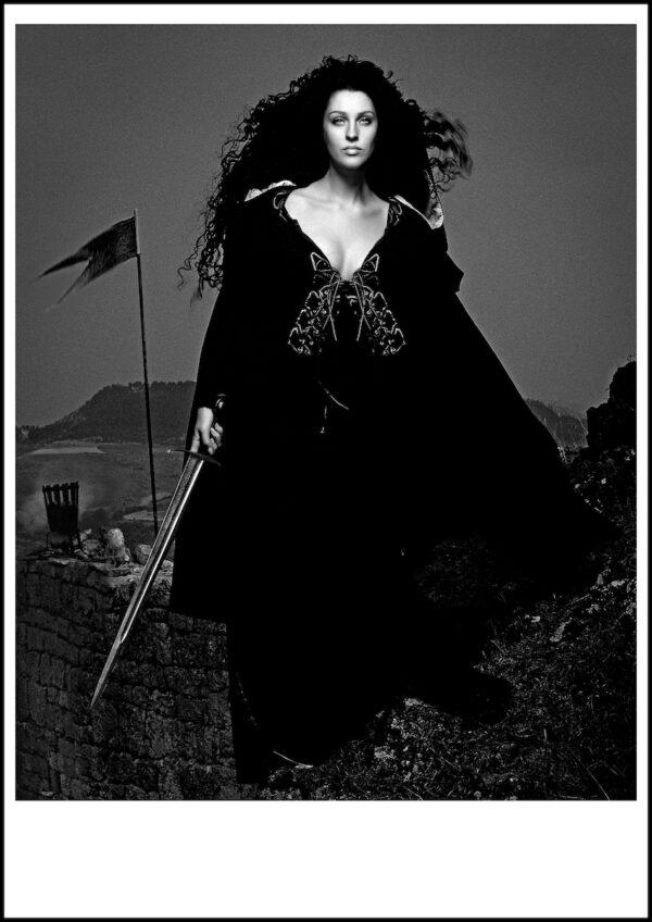 ELHE-657-658-Les Héroïnes- Écosse-Calendrier-Pirelli-1991-ART-Arrowsmith©