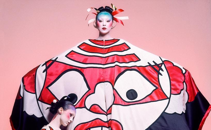 FAKM-733-734-Kansai-Yamamoto---Face-Mask-Gown-Arrowsmith©MaisonSensey